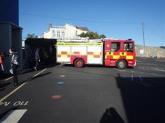A visit from Dublin Fire Brigade