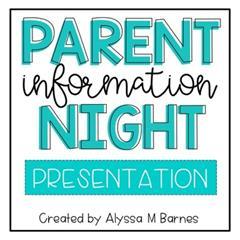 Information Evenings
